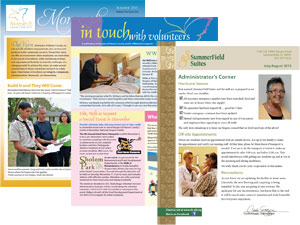 Hospice of Marion County Newsletters